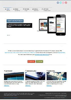 boot responsive mobile web template