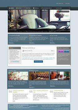 decor responsive mobile web template