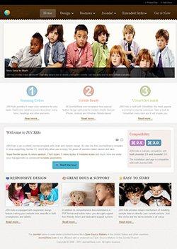 kido responsive mobile web template