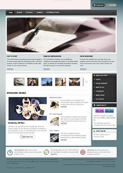 mico responsive mobile web template
