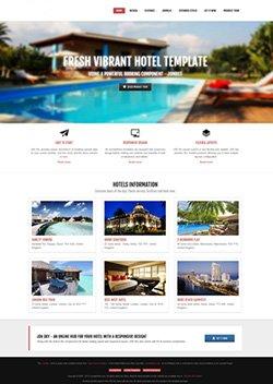 sky responsive mobile web template