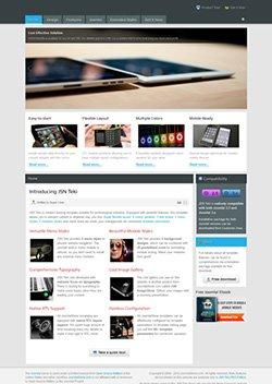 teki responsive mobile web template